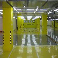 concrete floor paint Solvent-free Epoxy Self-leveling top coat paint