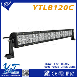 Quad row truck roof LED light bar Top Quality Top Quality Straight Auto led light bar