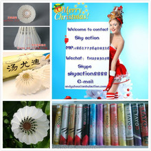 Direct factory supplier wholesale goose feather and sandwich cork head shuttlecock games