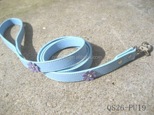Leashes with flower for dog or cats .pet collars ,diy collars ,custm