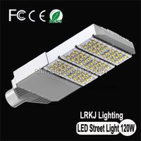 High Efficiency ISO9001 ISO4001 IP65 outdoor 120w street light/ led street lighting fixtures
