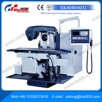 High Precision CNC Knee-type Horizontal Milling Machine XK6032