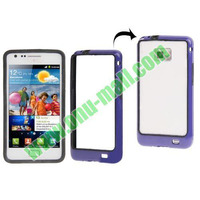 Plastic Frame bumper case for samsung galaxy s2 with Keys