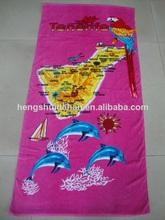 impresión de toallas de playa