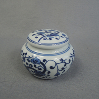 Small ceramic pet ashes urn wholesale china supply
