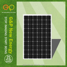 high efficiency low price solar panel for monocrystalline solar panel price india for sale