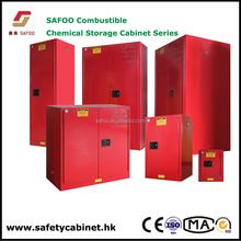 Paint ink safety Cabinets wit 38mm insulating space 3 point lock