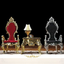 2015 Luxury Design Hotel High Back King Throne Chair, Hotel Crown Chair, Bride and Groom Wedding Chair