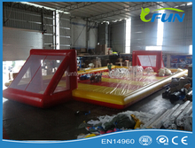 soap football inflatable football field / inflatable soapy football / inflatable soap water footballs
