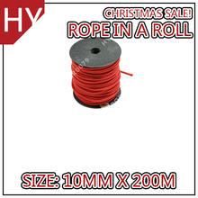 hyropes rr0079 color rojo cuerdas caballo bozales cuerda para los caballos