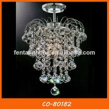 Lustre de cristal modernos luz de teto com bola de cristal co-80182