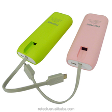 best quality low price fcc ce rohs power bank with line tech