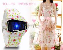New Fashion LED Aircraft Boy Wrist Watch digital lady watch