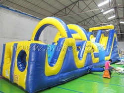 giant inflatable obstacle