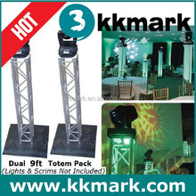 High loading capacity portable lighting truss