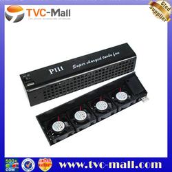 4 Fan USB Cooling Cooler Interlocker for PS3