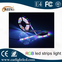 3528 Led RGB bande de lumière Flexible de corde de Led éclairage 12 V 300smd avec contrôleur IR