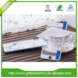 Anti- fingerprint full coverage tempered glass screen protector for iphone6