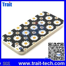 10 Pattern Flower Painting TPU Case for iPhone 5S 5 Chrysanthemum