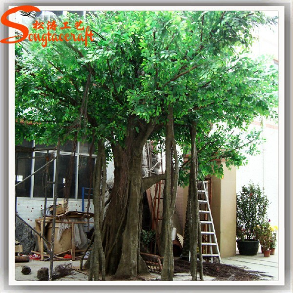 Gros durable arbre artificiel pas cher artificielle arbres for Solde plante exterieur