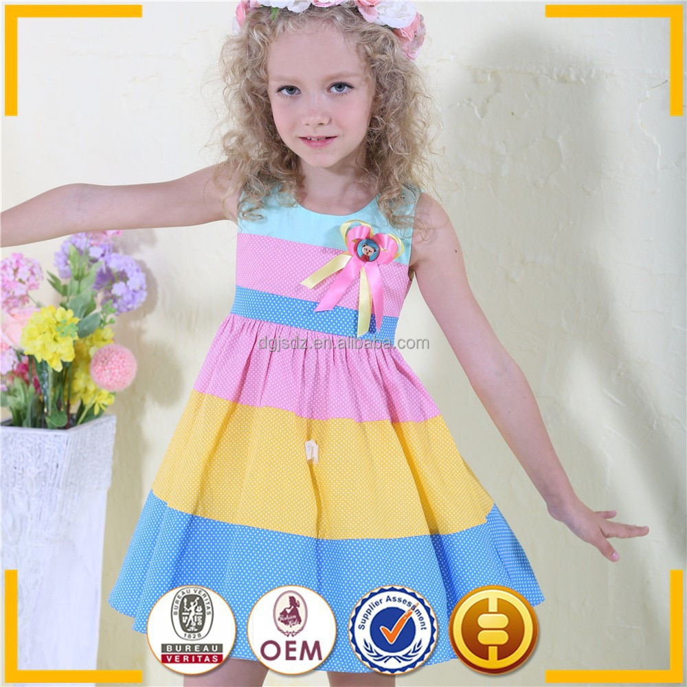 Wholesale 4 10years Girls Casual Dresses Wholesale
