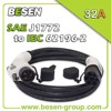 leaf extension cable for Electric Vehicles (EV) Charging