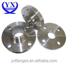 ANSI B16.5 or ASTM B381 Titanium pipe flanges for high pressure