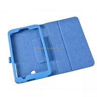 Stand PU Folio leather case for Asus memo pad 7 ME176