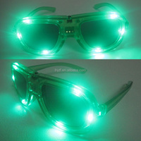 led color changed newest shining sunglasses for night party glasses