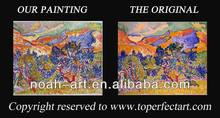 wall decor abstract art oil painting reproduction from china