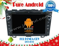 Android 4.2 car audio dvd gps system with Capacitive touch screen for HONDA CRV (2006-2011), 3G ,WIFI ,support OBD