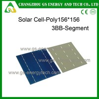 High quality customizable cheap price polycrystalline silicon 6*6 inch chinese solar cell
