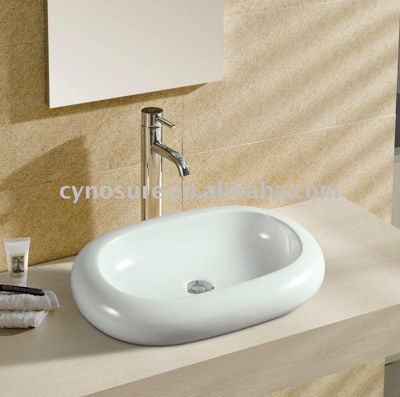 Oval de cerâmica pia do banheiro CY5037Pias para banheiroID do produto3660 -> Pia De Banheiro Oval