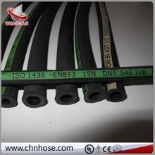 with brass fittings sae100 r1at extremely high pressure hydraulic hose