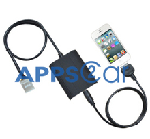 App2car 3.5MM Audio Cable for Toyota Camry Corolla Rezi 4runner Prius OEM Radio for Ipod