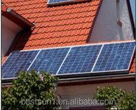 Green solar energy good price 250w polycrystalline solar electricity 2000w