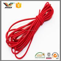 3mm custom woven round braided elastic bungee cord