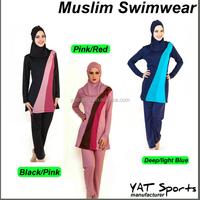 New Maios Plus Size Adult Arab Swim Wear Breathable Beachwear Muslim Swimwear Women Islamic Swimsuit