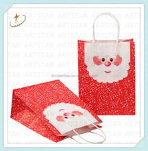 Brand paper Christmas shopping bag