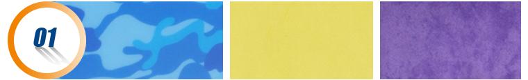 Ясно красочные печатные папка пп файл с резинкой