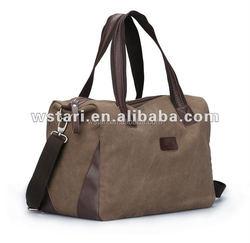 Folding Portable Nylon Gym Bag Durable 600D Nylon Travel Vintage Waterproof Duffel Bag