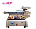 Impresoradigital, impresora de tarjetas pvc, uv de cama plana de la impresora con la máquina de impresión de barniz