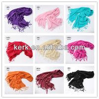 W3010, Women 2014 muslim accept custom design wholesale price for pashmina