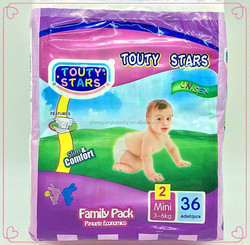 quick absorbtion and dry high quality disposable sleepy baby diaper with economical price