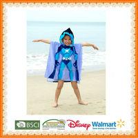 custom hooded towel poncho pattern for kids