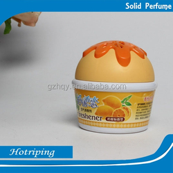 Hot sale gel/solid air freshener wholesaele scent OEM toilet air freshener