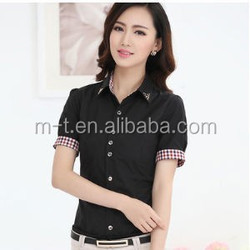 office ladies white shirt office blouse woman shirt