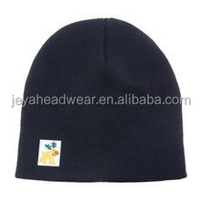 Winter Warm Man Embroidered Knitted Beanie Hats with Custom logo