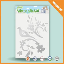 New product graceful mirror decorative wall sticker