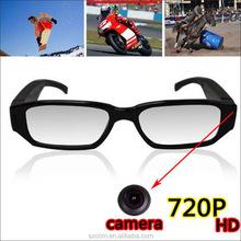 Trendy and stylish design wireless glasses 720P, Mini Camcorders Audio Video Recorder (PQ163)